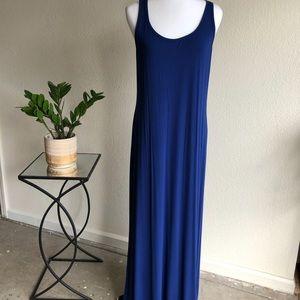 Old Navy royal blue maxi dress,Large,NWT